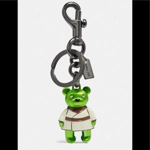 Coming Soon❗️Star Wars X Coach Yoda Bear Bag Charm